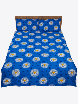 Leicester City Small Crest Double Duvet