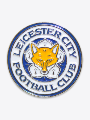 Leicester City Enamel Crest Pin Badge