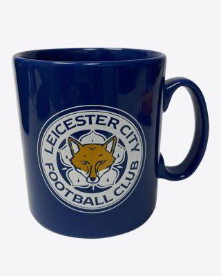 Leicester City Blue Crest Mug