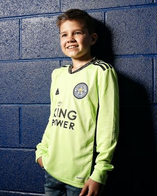 Leicester City King Power Goalkeeper Shirt Green 2020/21 - Ki