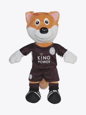 "Leicester City 10"" Maroon Away Kit Filbert"