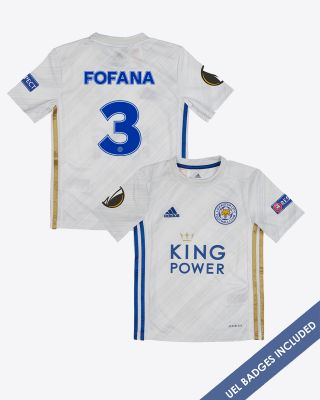 Wesley Fofana  - Leicester City Away Shirt 2020/21 - Kids UEL