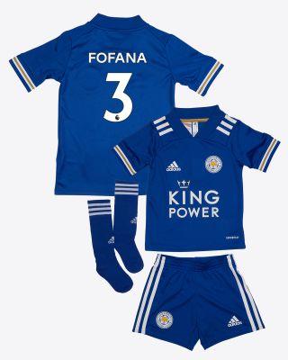 Wesley Fofana  - Leicester City King Power Home Shirt 2020/21 - Mini Kit