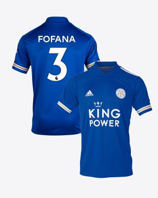 Wesley Fofana  - Leicester City King Power Home Shirt 2020/21