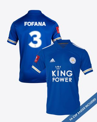 Wesley Fofana  - Leicester City King Power Home Shirt 2020/21 - FA CUP