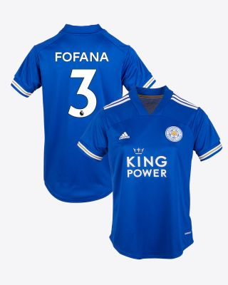 Wesley Fofana  - Leicester City King Power Home Shirt 2020/21 - Womens