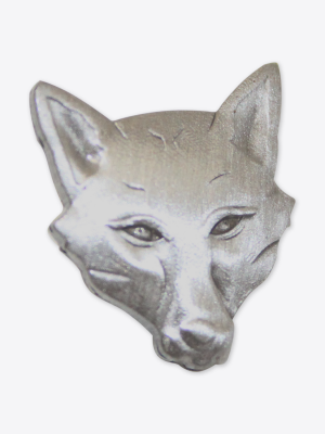 Leicester City Fox Head Pin Badge