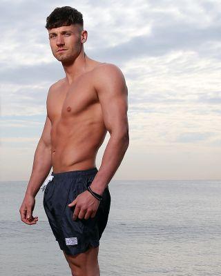 Leicester City Mens Fox Head Swim Shorts