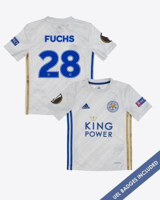 Christian Fuchs - Leicester City Away Shirt 2020/21 - Kids UEL