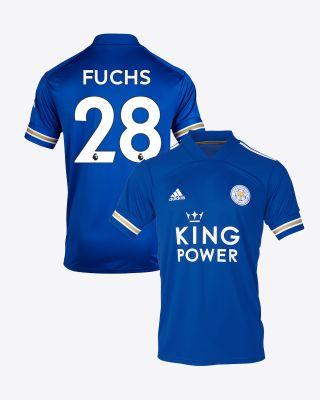 Christian Fuchs - Leicester City King Power Home Shirt 2020/21