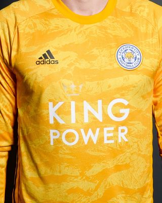 2019/20 adidas Leicester City Junior Gold Goalkeeper Shirt