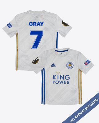 Demarai Gray - Leicester City Away Shirt 2020/21 - Kids UEL