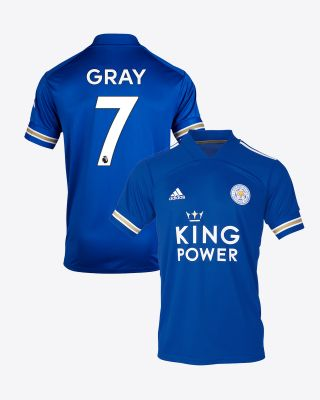 Demarai Gray - Leicester City King Power Home Shirt 2020/21