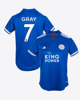 Demarai Gray - Leicester City King Power Home Shirt 2020/21 - Womens
