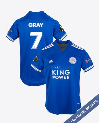 Demarai Gray - Leicester City King Power Home Shirt 2020/21 - Womens UEL
