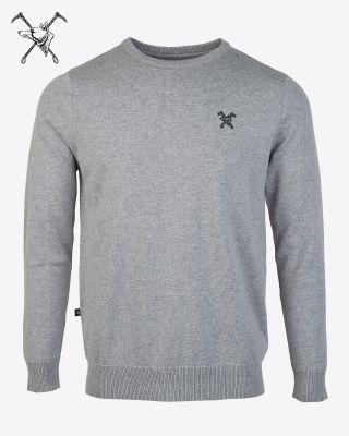 Fox & Crop Mens Fine Knit Jumper