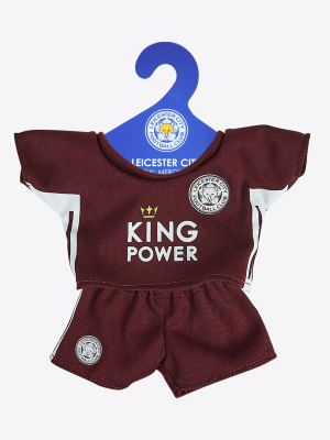 Leicester City Filbert Maroon Away Kit
