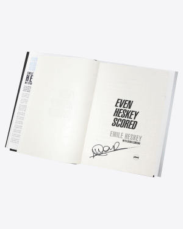 Even Heskey Scored Book - Signed Copy