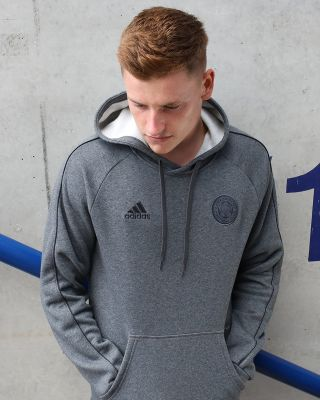 Leicester City Core Grey Hoody