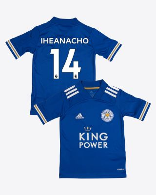 Kelechi Iheanacho - Leicester City King Power Home Shirt 2020/21 - Kids