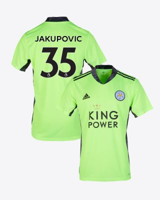 Eldin Jakupovic - Leicester City King Power S/S Goalkeeper Shirt Green 2020/21