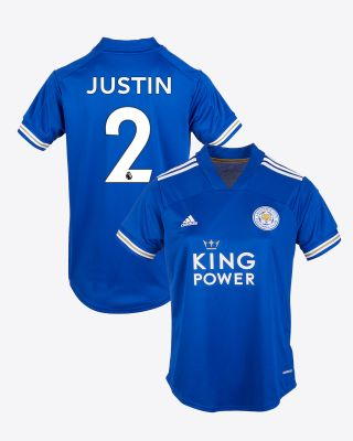 James Justin - Leicester City King Power Home Shirt 2020/21 - Womens