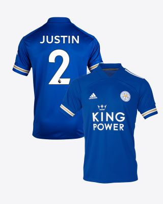 James Justin - Leicester City King Power Home Shirt 2020/21
