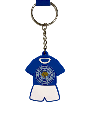 Leicester City PVC Kit Keyring