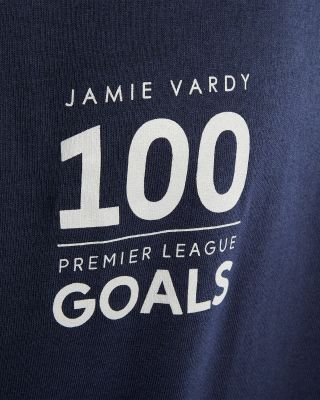 Leicester City Jamie Vardy 100 Goals T-Shirt