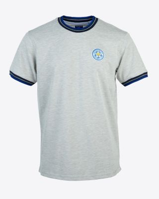 Leicester City Mens Grey T-Shirt