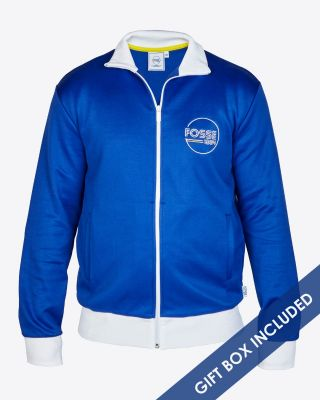 Leicester City Retro Track Jacket Fosse 1884 Blue