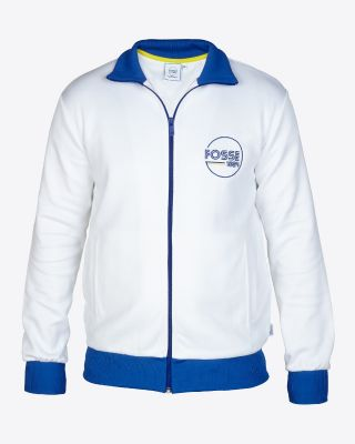 Leicester City Retro Track Jacket Fosse 1884 White