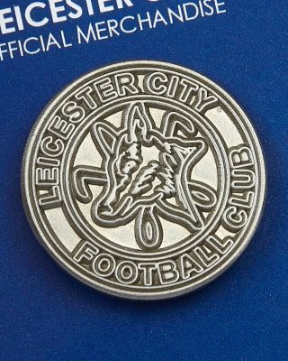 Leicester City 1973 Round Crest Pin Badge