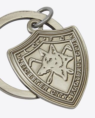 Leicester City 1979 Shield Crest Keyring