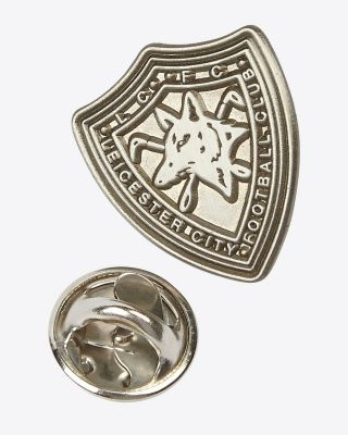 Leicester City 1979 Shield Crest Pin Badge