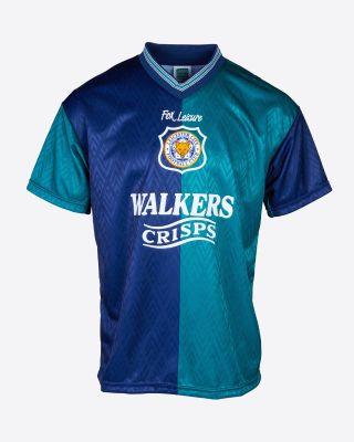 Leicester City Retro Shirt 1995 Third