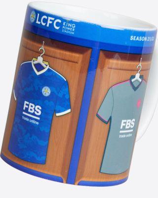 Leicester City Kit Changing Room Mug