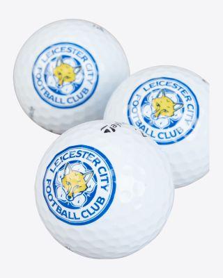 LCFC x Taylor Made - 3 Pack Golf Balls