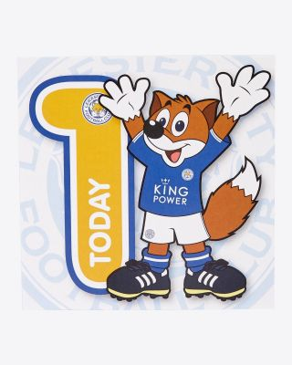 Leicester City Greetings Card - Assorted Designs - AGE 1