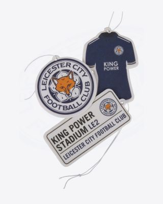 Leicester City 3 Pack Air Freshener