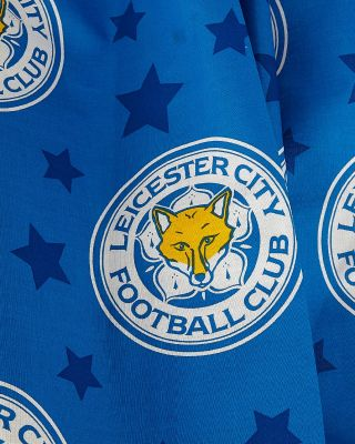 "Leicester City 54"" Small Crest Curtains"