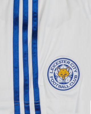 Leicester City White Away Shorts 2020/21 - Kids