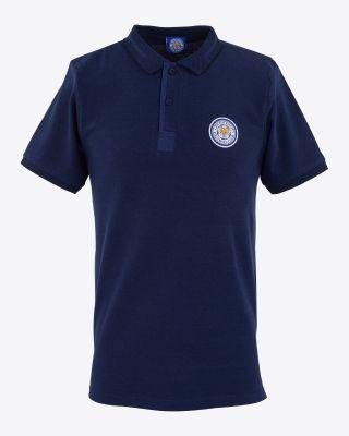 Leicester City Adams Polo - Navy