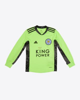 Danny Ward - Leicester City King Power Goalkeeper Shirt Green 2020/21 - Kids