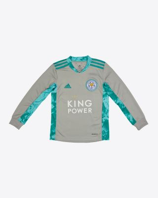 Danny Ward - Leicester City King Power Goalkeeper Shirt Grey 2020/21 - Kids