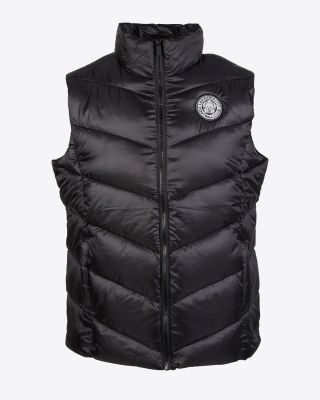 Leicester City Womens Black Poppy Gilet