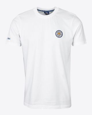 Leicester City Mens White Capsule T-Shirt