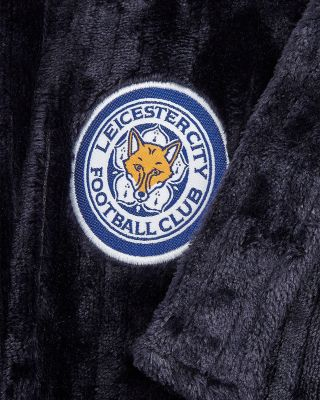 Leicester City Adult Navy Dressing Gown
