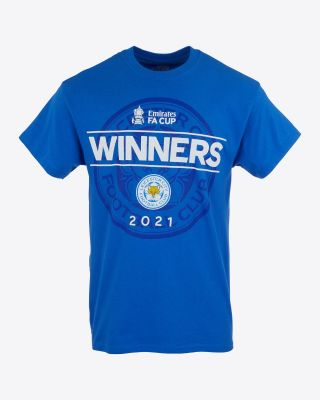 Leicester City FA Cup 2021 Winners T-Shirt