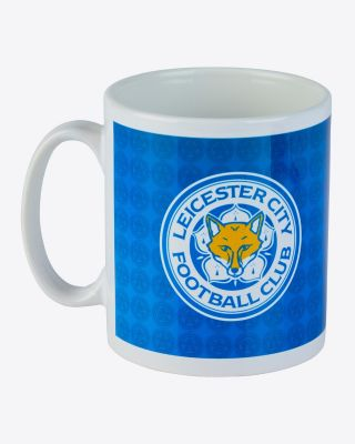 Leicester City All Over Crest Mug